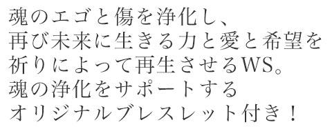 魂の浄化と目覚めの祈りのワーク 特別編 (オリジナル鑑定ブレス付)